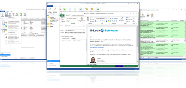 Click to view G-Lock EasyMail7 7.20.1 screenshot