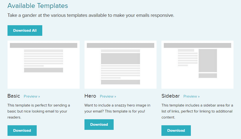 download responsive email templates